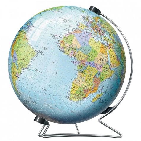 globo - puzzle 3d 540 pezzi