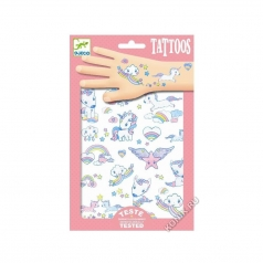 tatuaggi removibili - unicorni