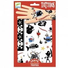tatuaggi removibili - pirati