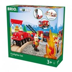 set ferrovia dei vigili del fuoco