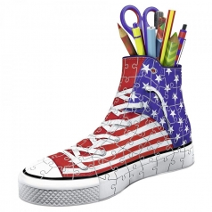 sneaker american style - puzzle 3d 108 pezzi