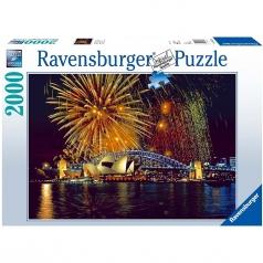 fuochi d'artifico a sydney - puzzle 2000 pezzi