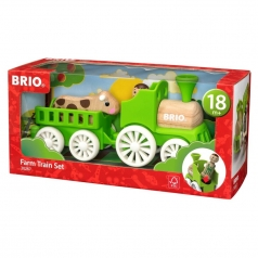 set trenino fattoria