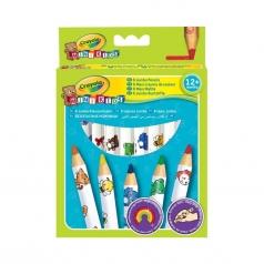 8 maxi matite colorate