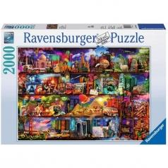 miracoloso mondo dei libri - puzzle 2000 pezzi