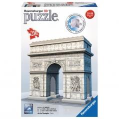 arco di trionfo - puzzle 3d 216 pezzi