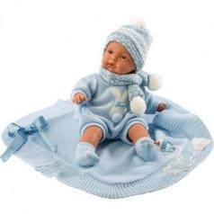 joel bambolotto 38 cm - corpo in tessuto con coperta