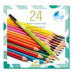 24 matite colorate acquarellabili