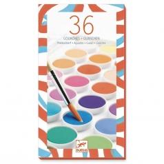 set tempere - 36 colori classici