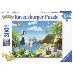 pokemon - puzzle 200 pezzi xxl