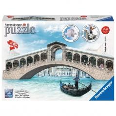 ponte di rialto - puzzle 3d 216 pezzi