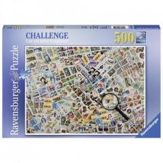 francobolli - puzzle 500 pezzi