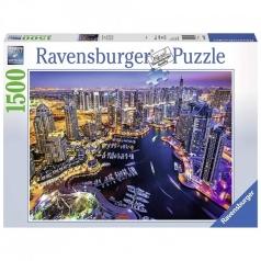 dubai marina - puzzle 1500 pezzi