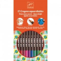 12 matite colorate acquarellabili