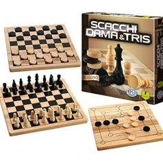 scacchi dama e tris