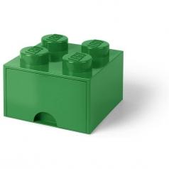 rclbd4gr - brick drawer 4 verde