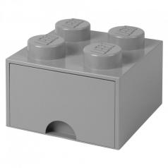 rclbd4gy - brick drawer 4 grigio
