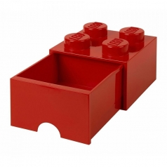 rclbd4rd - brick drawer 4 rosso