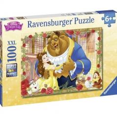 la bella e la bestia - puzzle 100 pezzi xxl