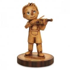 statuina pinocchio - violino