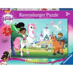 nella e i suoi amici - puzzle 24 pezzi pavimento