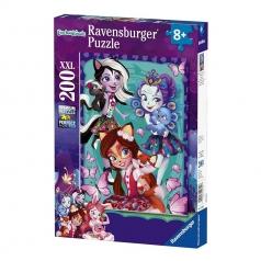 enchantimals - puzzle 200 pezzi xxl