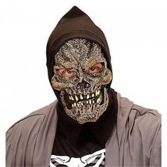 morte - maschera con cappuccio in schiuma di lattice