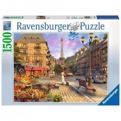 vintage paris - puzzle 1500 pezzi