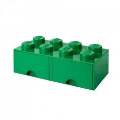 rclbd8gr - brick drawer 8 verde