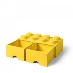 rclbd8yl - brick drawer 8 giallo