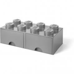 rclbd8gy - brick drawer 8 grigio