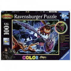 dragons 2 - puzzle 100 pezzi xxl