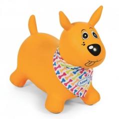 il mio cane salterino giallo - cavalcabile gonfiabile