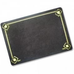 tappetino vdf - grande 4 assi nero 58x40 cm