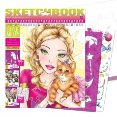 impact sketchbook - kitty love