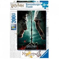 harry potter e voldemort - puzzle 200 pezzi xxl