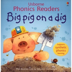 big pig on a dig - libro in inglese