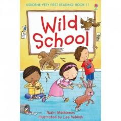 wild school - libro in inglese