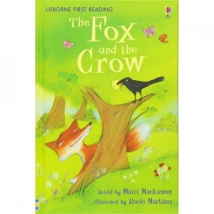 the fox and the crow - libro in inglese