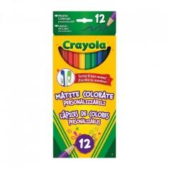 12 matite personalizzabili