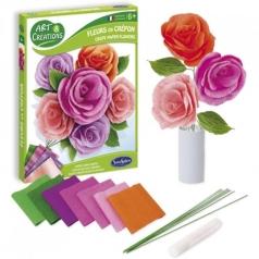 fiori di carta crespa - rose