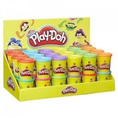 play-doh - vasetto singolo di pasta modellabile
