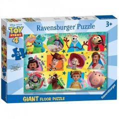 disney toy story 4 - puzzle 24 pezzi pavimento