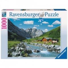 monti karwendel austria - puzzle 1000 pezzi