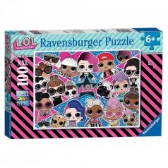 lol surprise - puzzle 100 pezzi xxl