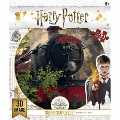 puzzle 3d 500 pezzi - harry potter - treno