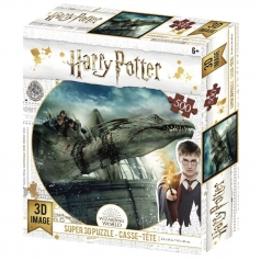 puzzle 3d 500 pezzi - harry potter - drago
