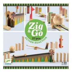 zig & go - domino in legno 27 pezzi