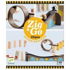 zig & go - domino in legno 25 pezzi