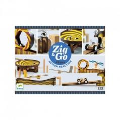 zig & go - domino in legno 45 pezzi